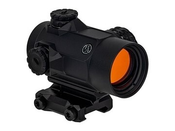 LOGO_SLx Rotary Knob 25mm Microdot with 2 MOA Red Dot Reticle