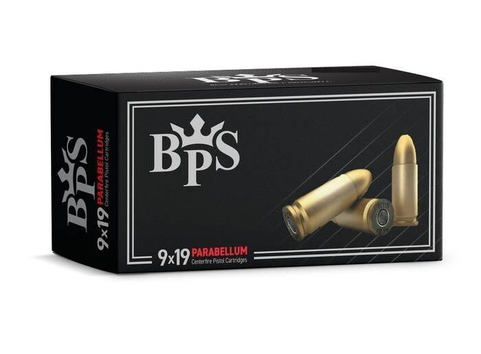 LOGO_9x19 Parabellum Pistol Cartridges