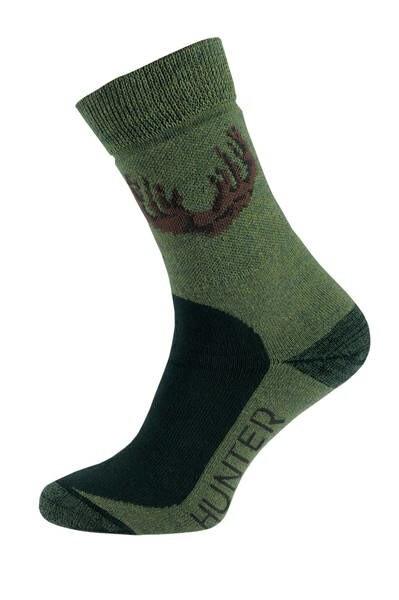 LOGO_Hunter Socken