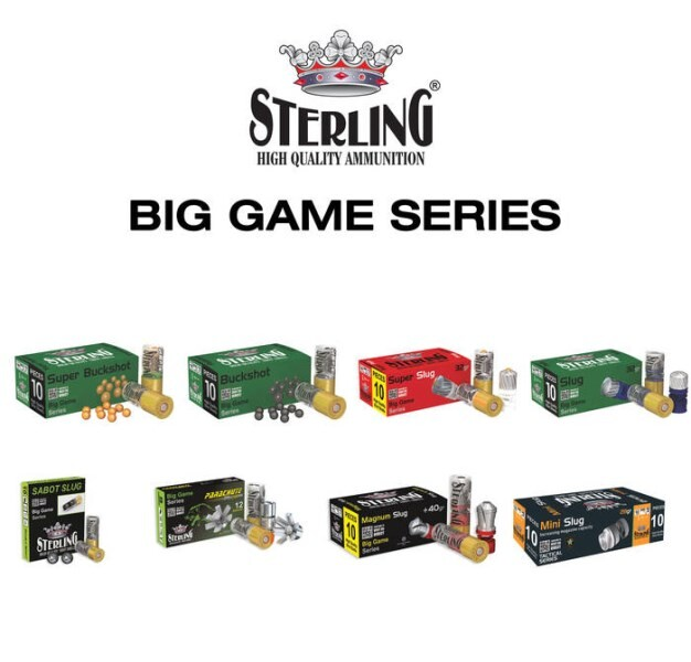 LOGO_STERLING 12 GAUGE BIG GAME SERIES