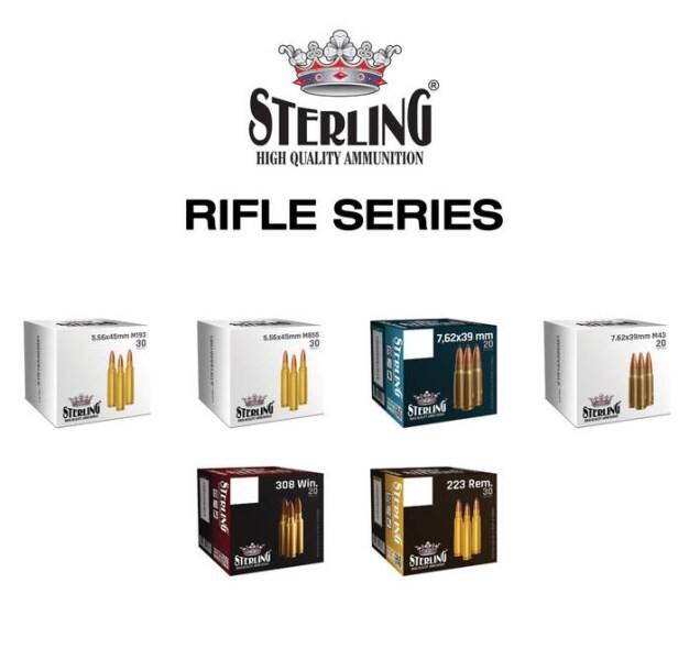 LOGO_STERLING RIFLE CARTRIDGES