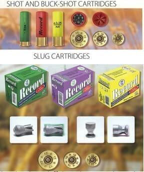 LOGO_Shot, buck-shot and slug hunting cartridges of 12, 16 and 20 calibers