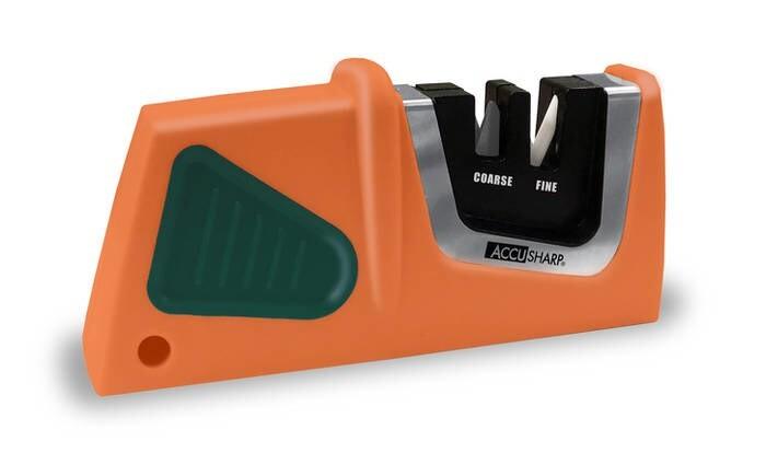 LOGO_AccuSharp® kompakte Messerschärfer zum Durchziehen