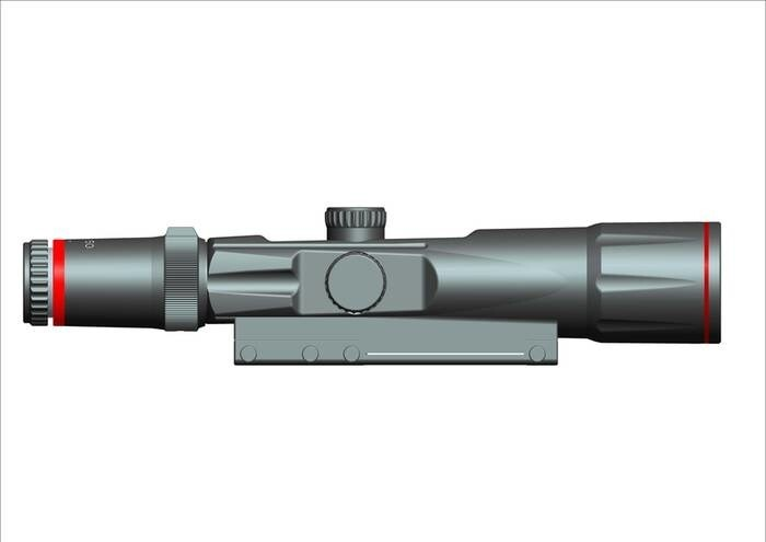 LOGO_3.5-10x50 mm Laser Quantum Rifle Scope