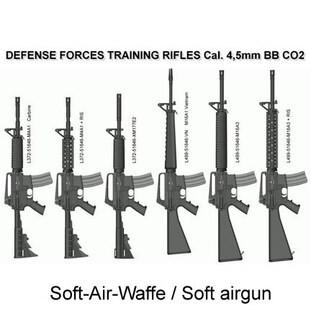 LOGO_AR15 Style CO2  Kal. 4,5mmBB (.177)  Gasdruckgewehr