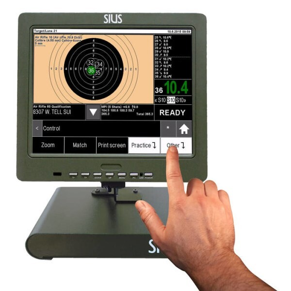 LOGO_SA951 – electronic scoring system for big bore/small bore pistols/rifles and airguns. Worldwide the only unit with ISSF approval phase III.