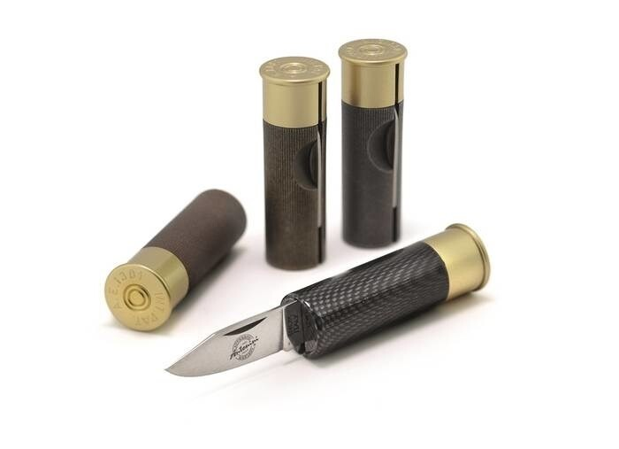 "LOGO_THE ORIGINAL ""MADE IN ITALY"" CARTRIDGE & BULLET KNIVES"