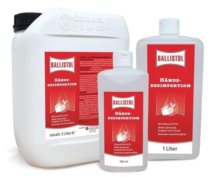 LOGO_Ballistol hand desinfection