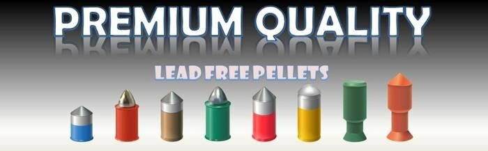 LOGO_New lead free pellets !
