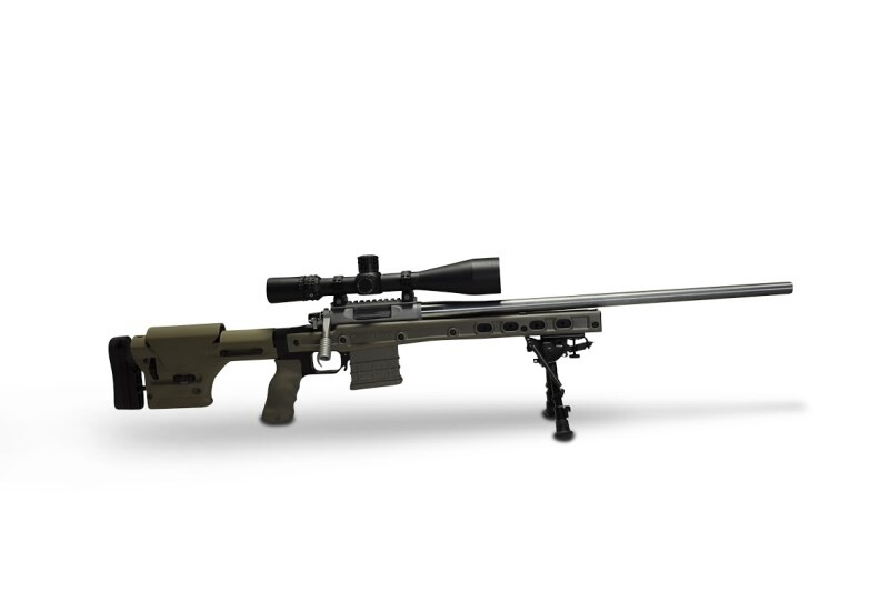 LOGO_HS3 Chassis system for Bolt Action Rifles