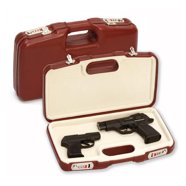 LOGO_2018PL – Pistol case all leather outside and velvet inside