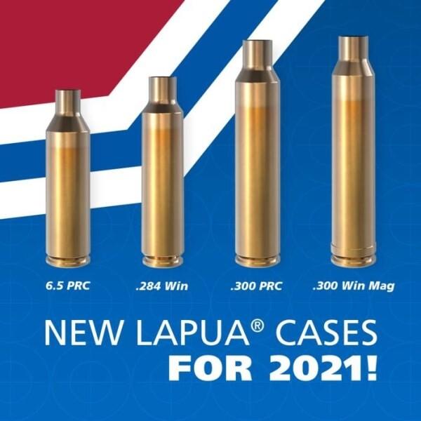 LOGO_New Lapua Brass Cartridge Cases
