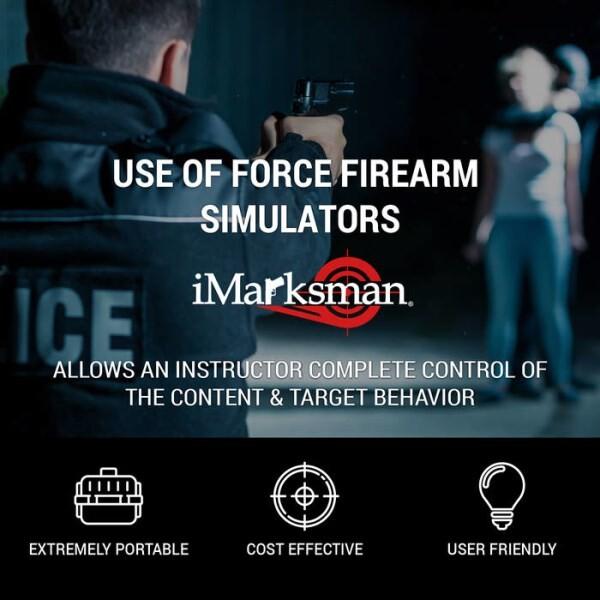 LOGO_iMarksman® Schusswaffen-Simulator für die Polizei