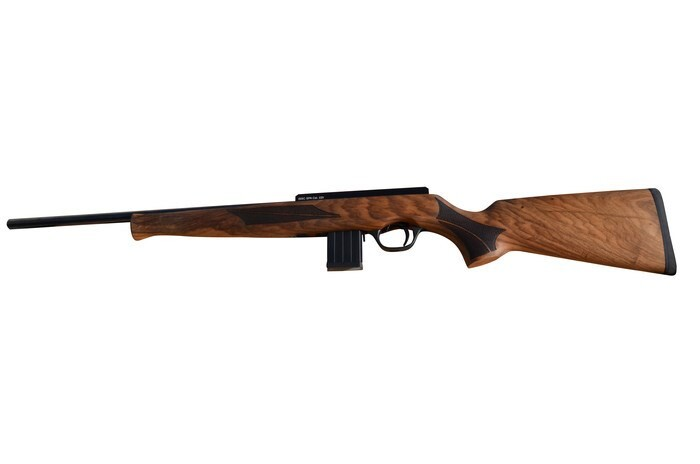 LOGO_Gewehr SPA mit Holzschaft