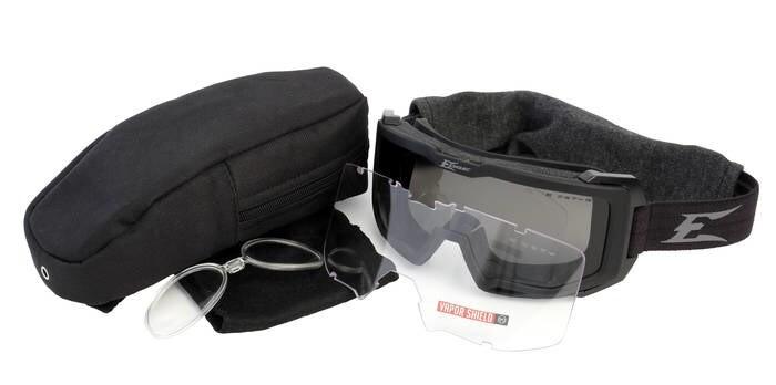 LOGO_Blizzard – Schwarz matter Soft-Touch Brillen / Klar Vapor Shield, G-15 Vapor Shield Gläser