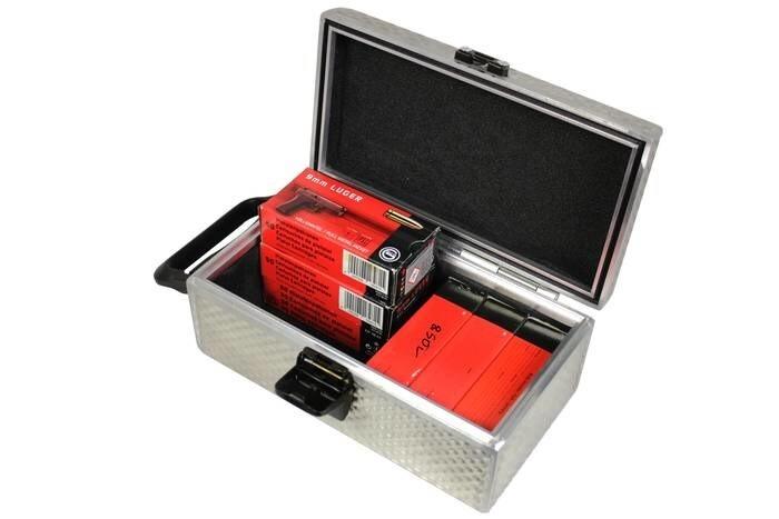 LOGO_PORTINCAS Alu-Koffer-System, Koffer Typ A0-L Pro, für Munitionskartons