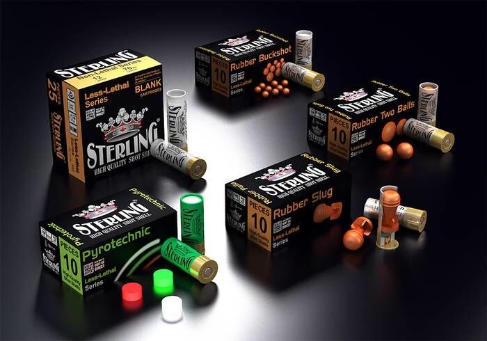 LOGO_STERLING LESS-LETHAL SHOTGUN SHELLS