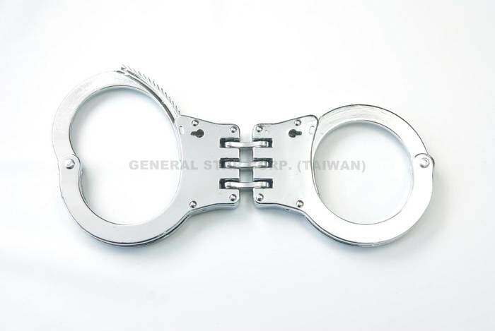 LOGO_Die-Casting Hinged Handcuff, HC-0112H