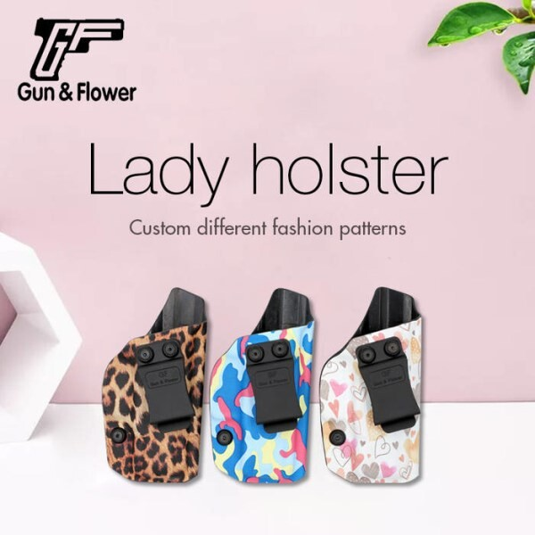LOGO_Gun&Flower Customized Fashion Lady Holster