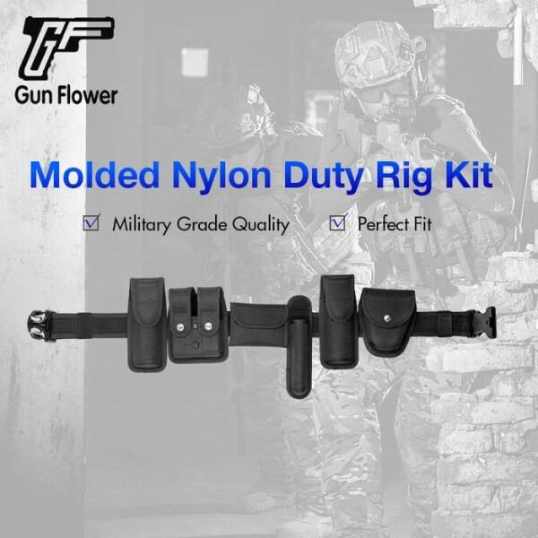 LOGO_Gun&Flower Molded Nylon Duty Rig Kit-Belt Accessories