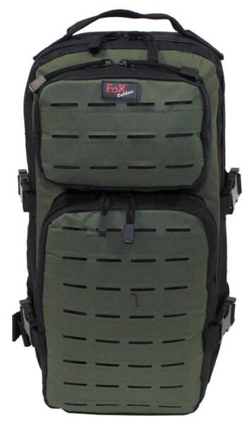 """LOGO_Backpack """"Assault-Travel"""", Laser, black/OD green"""