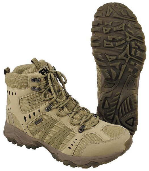 "LOGO_Combat Boots ""Tactical"", coyote tan"