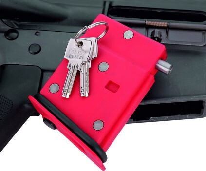 LOGO_AR 15 Firearm Lock with ABUS Cylinder