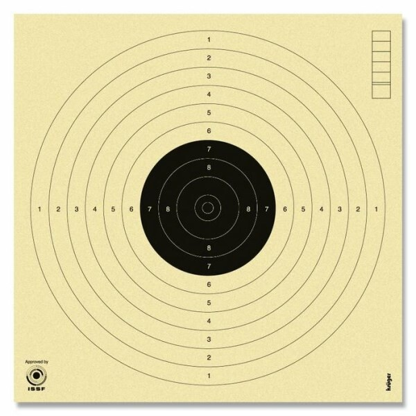 LOGO_Paper Targets approved by the International Shooting Sport Federation (ISSF)