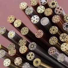 LOGO_Messer, das Mosaik Pin Stock herstellt