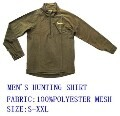 LOGO_MEN'S HUNTING SHIRT