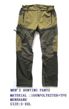 LOGO_MEN'S HUNTING PANTS
