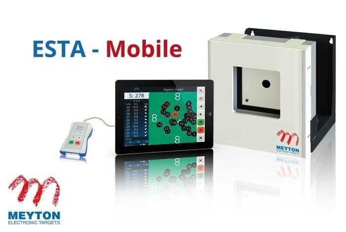 LOGO_Black Magic 10 m electronic scoring target - ESTA-Mobile
