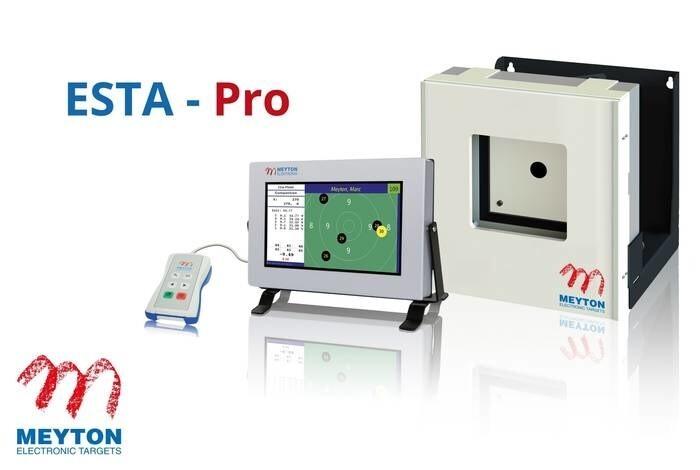 LOGO_Black Magic 10 m electronic scoring target - ESTA-Pro
