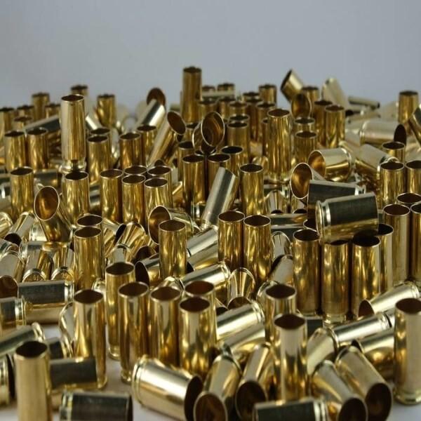 LOGO_9 mm Brass Case