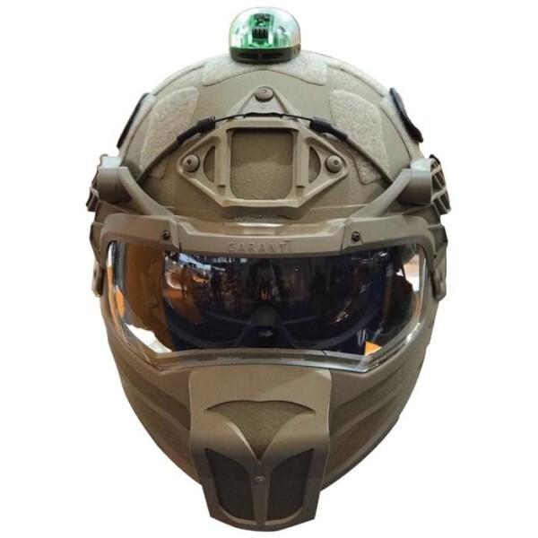 LOGO_Ballistischer Kinnschutz (für Helme mit mittlerem Schnitt) Vollgesichtsschutz