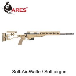 LOGO_Ares Airsoft bolt action snipergewehr M40-A6 dark earth
