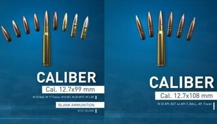 LOGO_Cal. 12.7x99 mm; 12.7x108mm