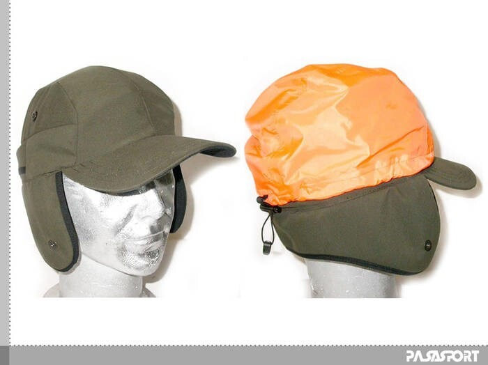 LOGO_Hunting Cap with cover protection