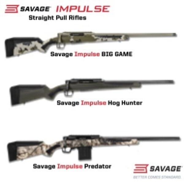 LOGO_Savage Impulse - The brand new line of Straight-Pull Rifles