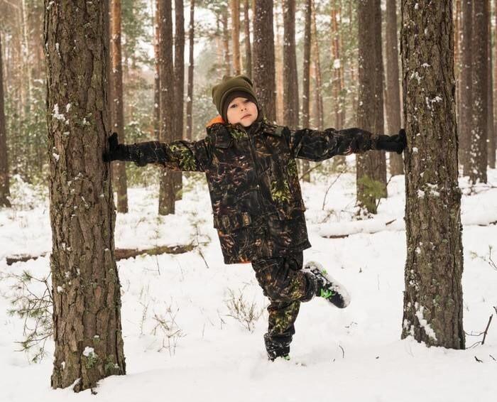 LOGO_Camouflage set for children