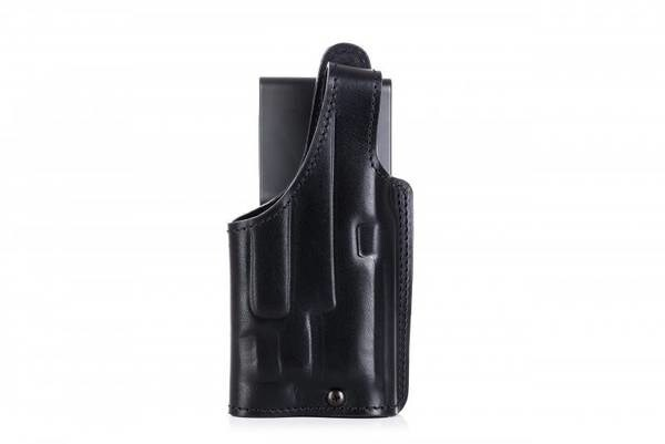 LOGO_H202 Duty leather holster for gun with light