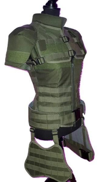 LOGO_Tactical combat vest for women