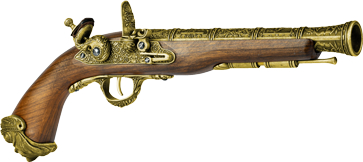 LOGO_HFC HGC-502 GAS/CO2 Powered Flintlock Pistol