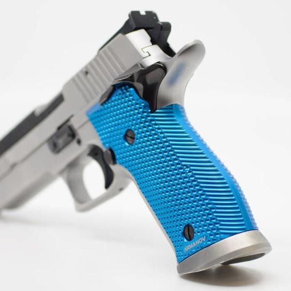 LOGO_SpidErgo II Pistol Grips for Sig Sauer P226 XFive / XSix SA