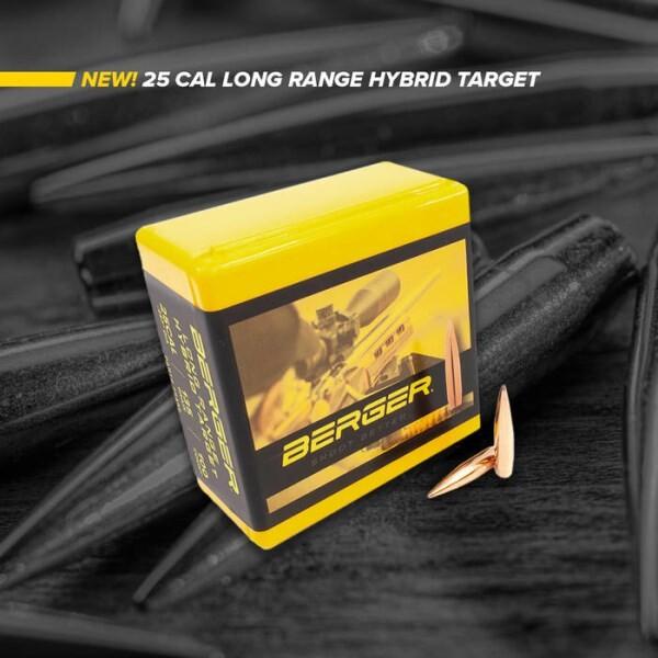 LOGO_New Berger 25 Caliber 135 Grain Long Range Hybrid Target Bullets