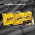 LOGO_New Berger 223 Remington Ammunition