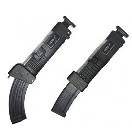 LOGO_Magazine speed loaders for AR15 ( 5.56 X 45 mm ) or AK47 ( 7.62 x 39 mm ) suitable for 10/20/30 rounds magazines
