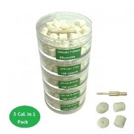 LOGO_Gun cleaning felt pellet/pad kit 530 cnts 5 layers No.6186