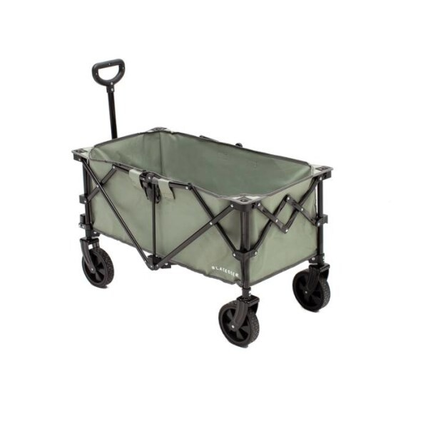 LOGO_Camping Heavy Duty Folding Wagon