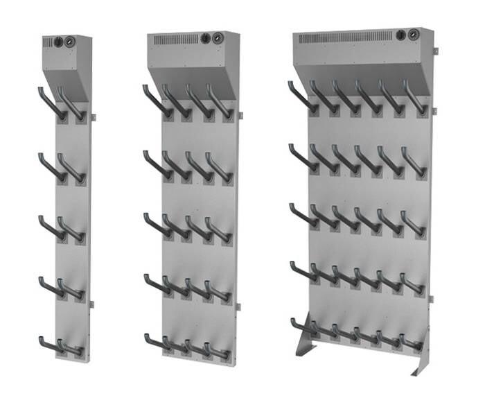 LOGO_Offene Trocknungssysteme aus Stahl. Stiefeltrockner, Handschuhtrockner, Helmtrockner